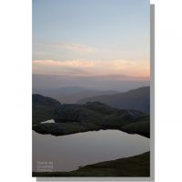 Borrowdale from Sprinkling Tarn at dawn