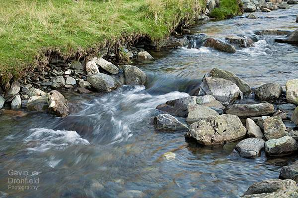 narrow section of newlands beck