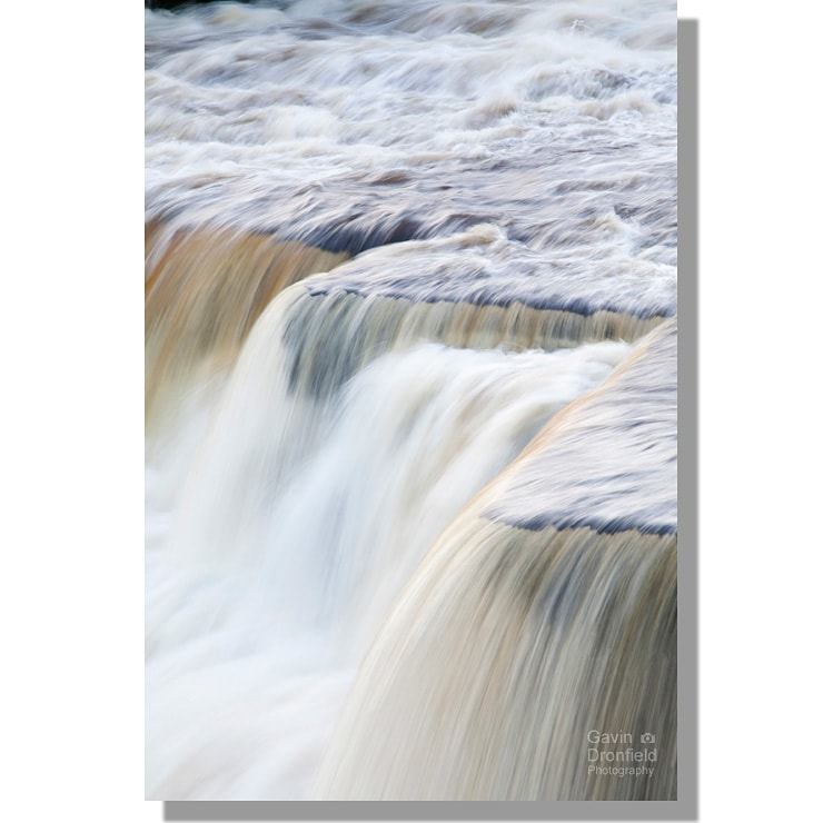 Aysgarth Middle Falls detail long exposure