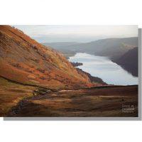 Glencoyne Beck in Glencoyne Valley at autumnal dawn