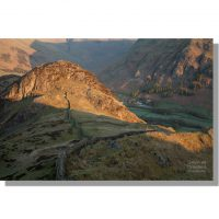Side Pike at dawn above Old Dungeon Ghyll