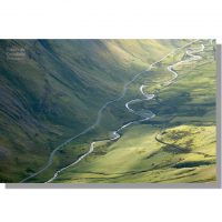 Honister Pass and Gatesgarthdale Beck from Dale Head