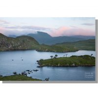 Angle Tarn above Patterdale during cloudy dawn