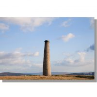Cupola smelt mill chimney on grassington moor